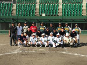 石山高校野球部OB戦